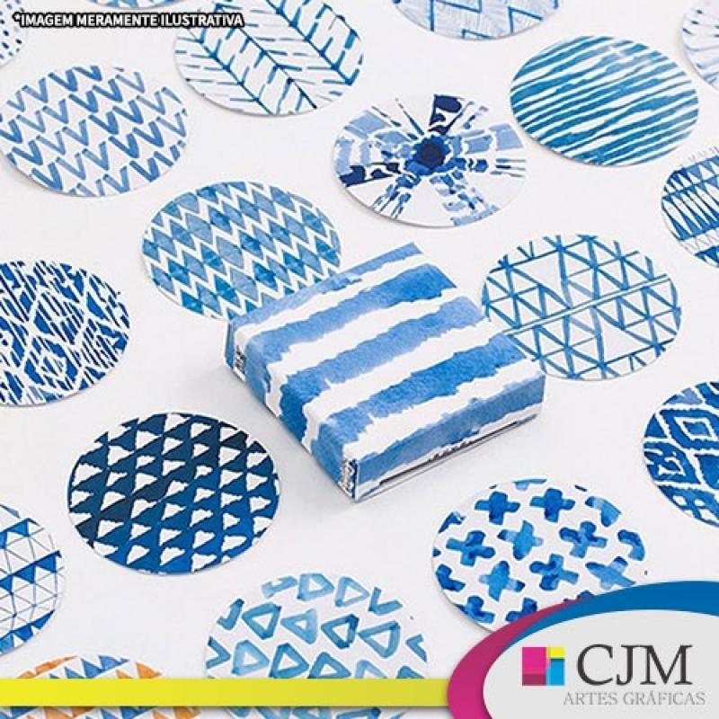 Adesivo Rótulo Impresso com Corte Especial - C J M - Artes Gráficas