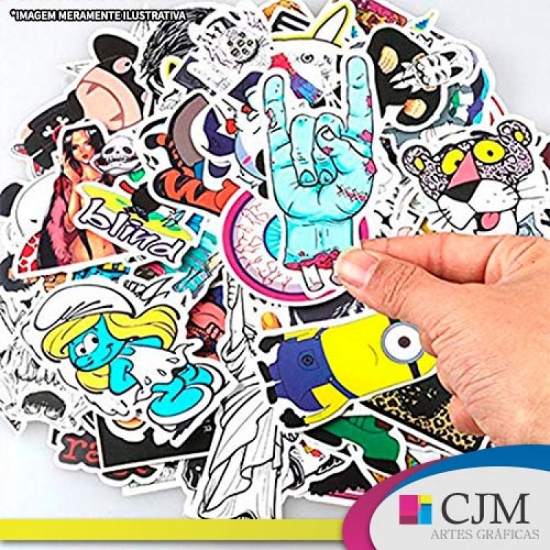 Adesivos Impressão - C J M - Artes Gráficas