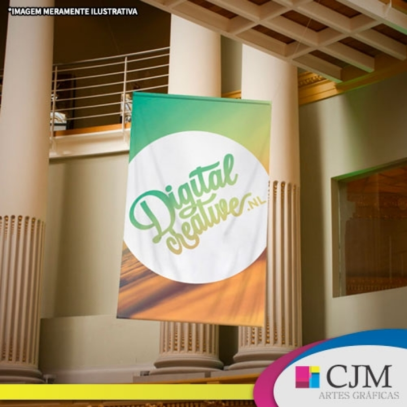 Banner para Decoração - C J M - Artes Gráficas