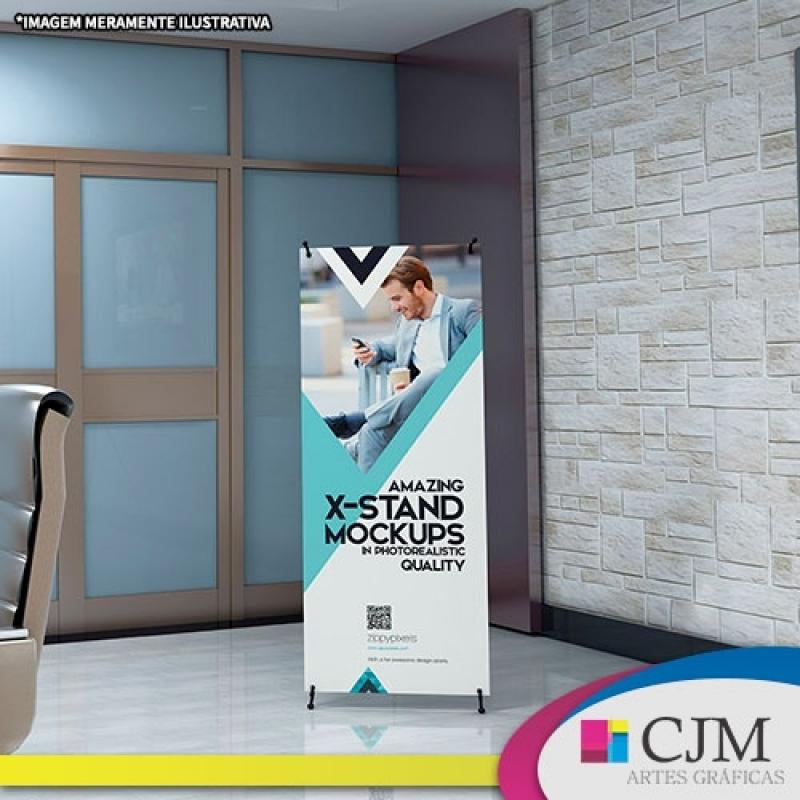 Banner para Eventos - C J M - Artes Gráficas