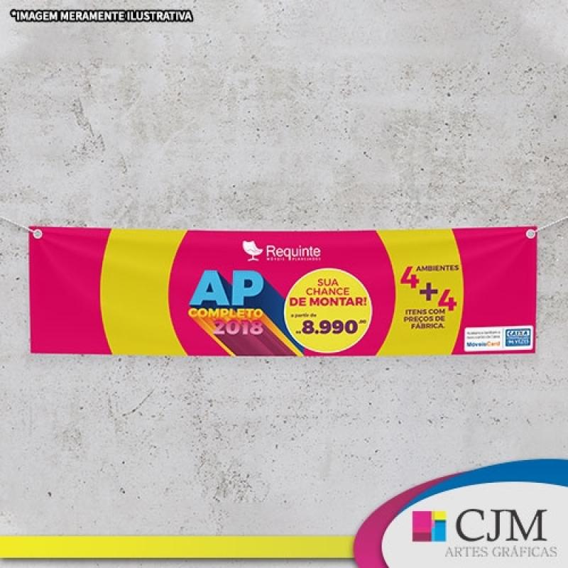 Banner para Loja - C J M - Artes Gráficas