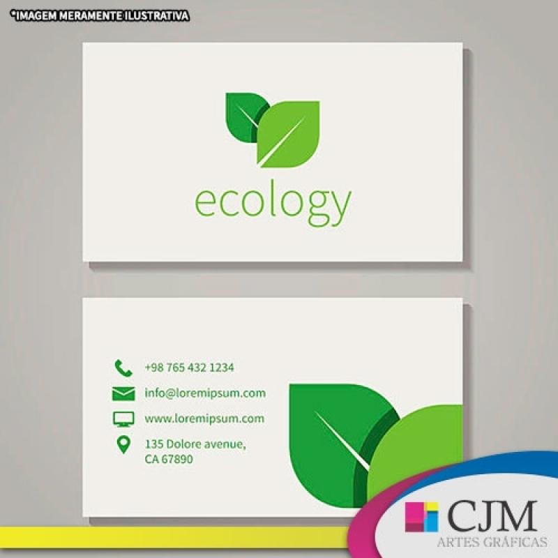 Cartão de Visitas Design - C J M - Artes Gráficas