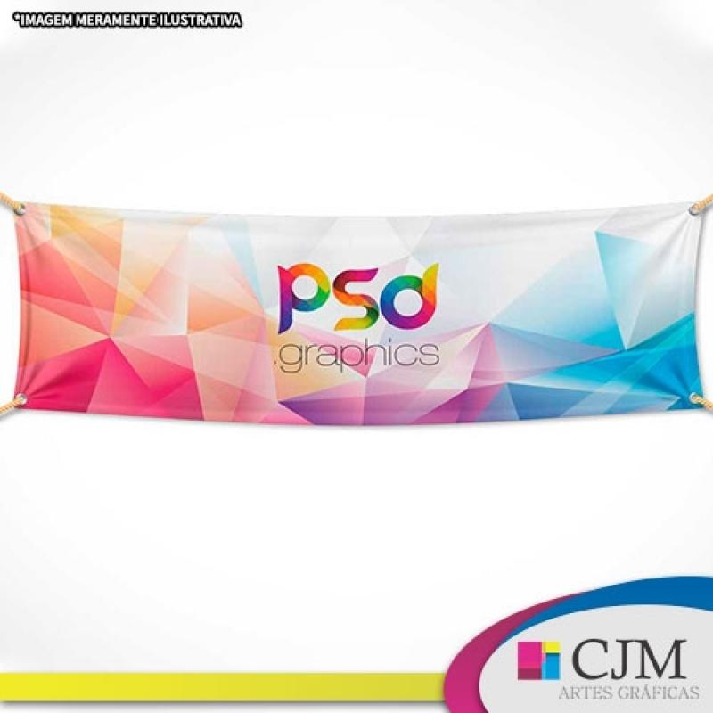 Quanto Custa Banner Congresso Vila Bastos - Faixas e Banners