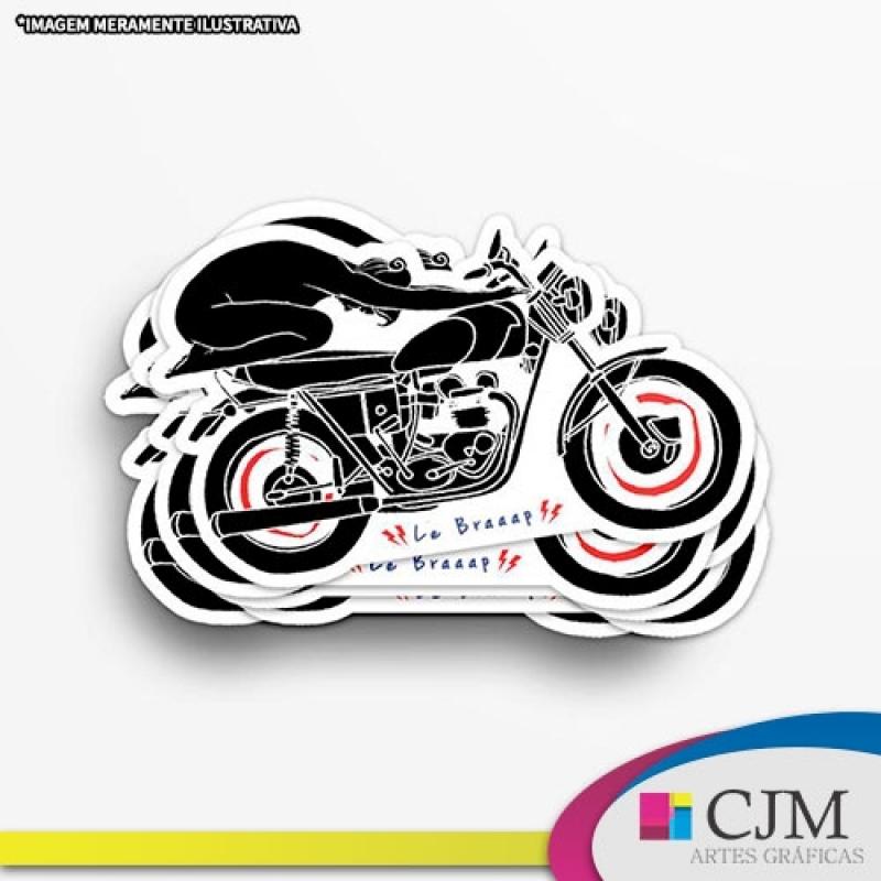 Rótulo Adesivo Transparente - C J M - Artes Gráficas