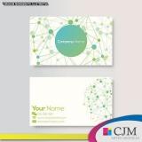 cartão de visita e logotipo Mauá